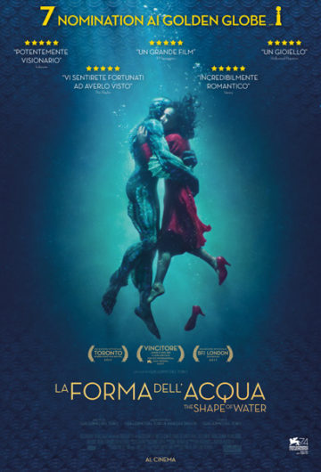 La Forma dell'Acqua – The Shape of Water