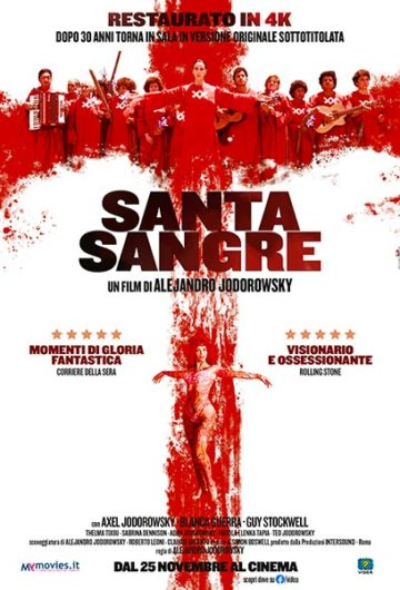 Santa sangre – Sangue santo